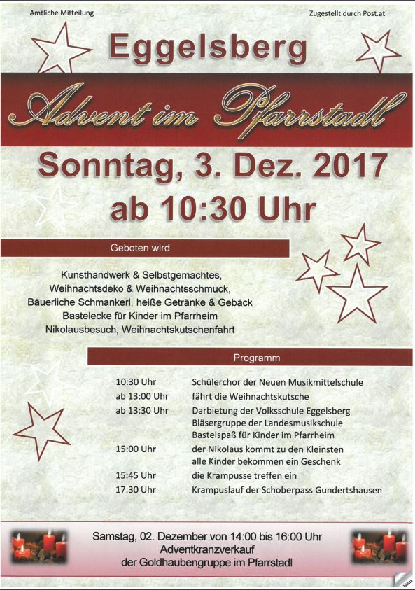 Advent Eggelsberg