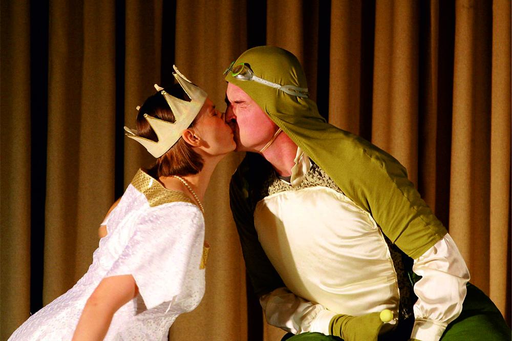 Froschkoenig (c) Theaterachse