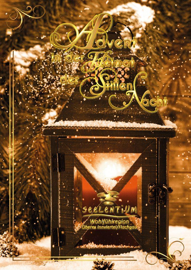 Titelseite der Seelentium-Adventbroschüre 2017