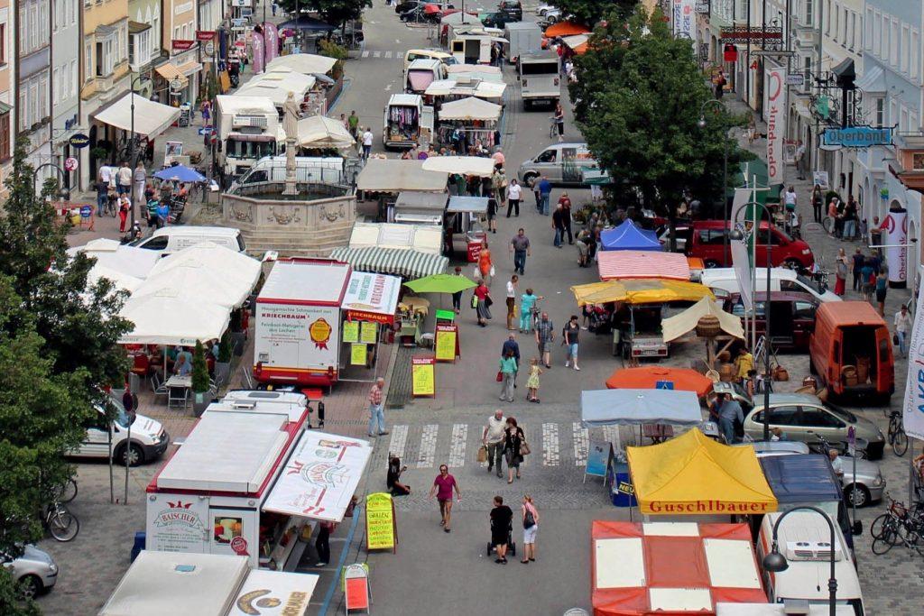 Wochenmarkt Braunau