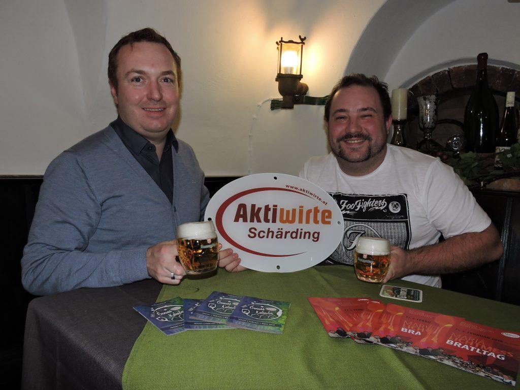Aktiwirte Jänner 2018