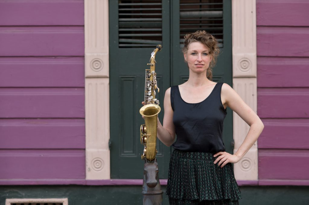 NIcole Johänntgen in New Orleans