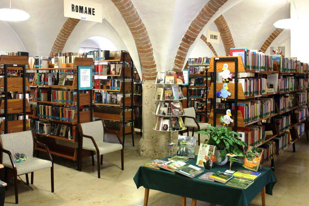 Stadtbücherei innen